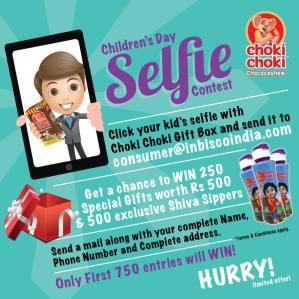 Childerens Day Selfie Contest