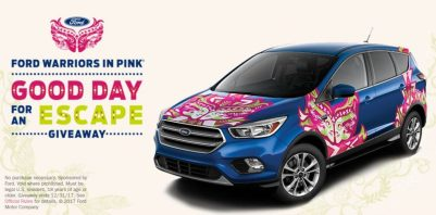 Ford Warriors Pink Sweepstakes