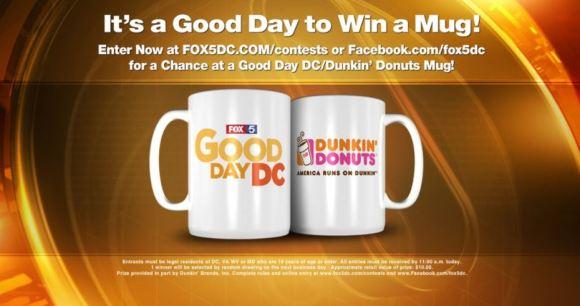FOX 5 DC Mug Giveaway