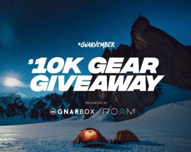 Gnarbox 10k Gear Giveaway