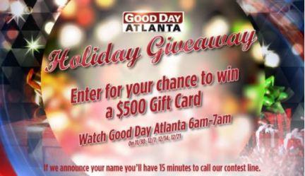 Good Day Atlanta Holiday Giveaway