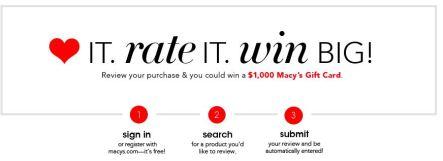 Macys Coupon Giveaway