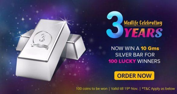 Medlife Anniversary Contest