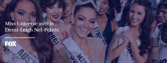 Miss Universe Contest 2017