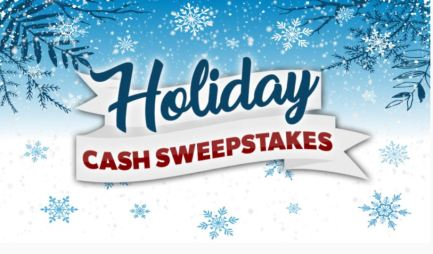 View Holiday Winter Cash Sweepstakes