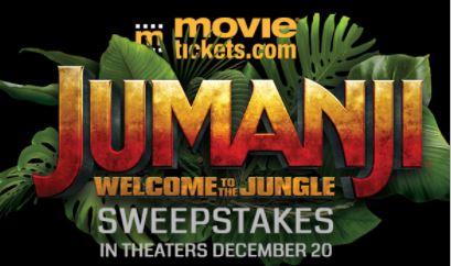 Jumanji Welcome to the Jungle Sweepstakes