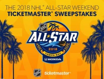 All-Star Weekend Ticketmaster Sweepstakes