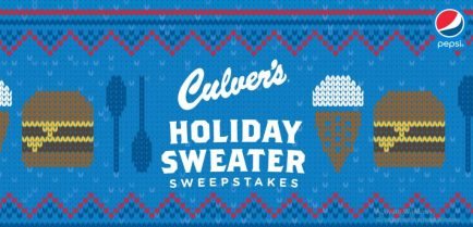 Culvers Holiday Sweater Sweepstakes