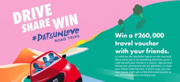 Datsunlove Road Trips Contest