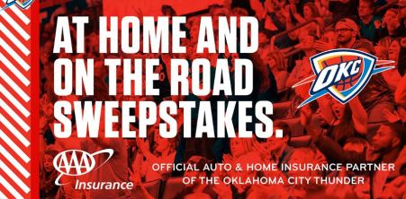 Nba OKC Thunder AAA Sweepstakes