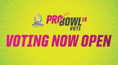 NFL Pro Bowl Fan Voting 2018