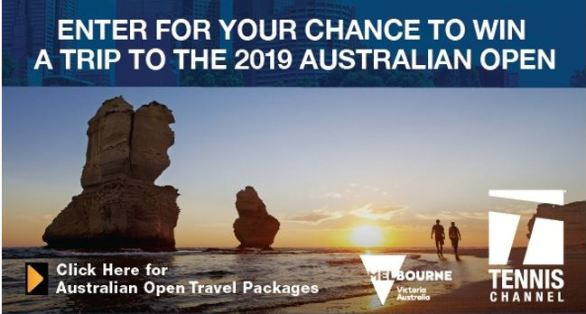 Australian Open Trip Giveaway