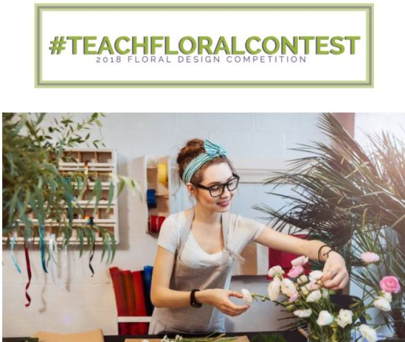 Floriology Institute Teach Floral Contest