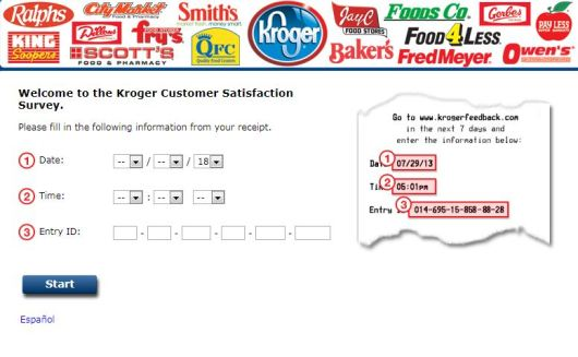 Kroger Customer Satisfaction Survey Monthly Sweepstakes