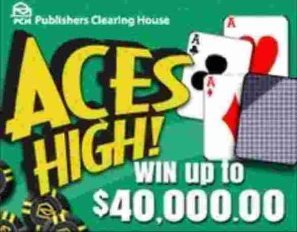PCH-Aces-High-Sweepstakes