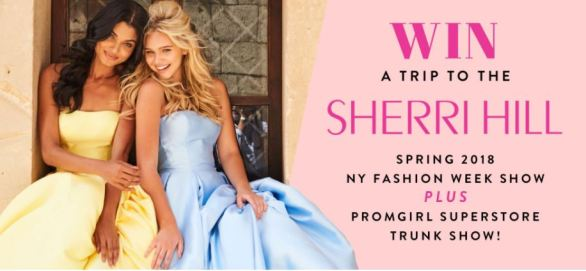 Promgirl Superstore Trunk Show Sweepstakes