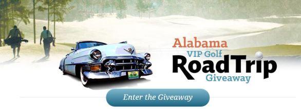 Alabama VIP Golf Road Trip Giveaway