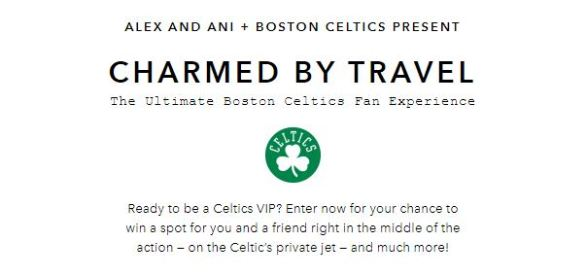 Alex and Ani Boston Celtics Sweepstakes
