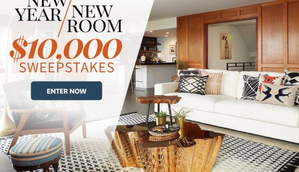 Bhg New Year New Room Sweepstakes Bhg Com Overstock Offers Contest