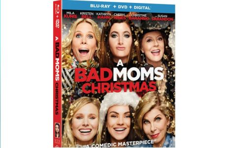Bad Moms Christmas Blu-Ray Sweepstakes