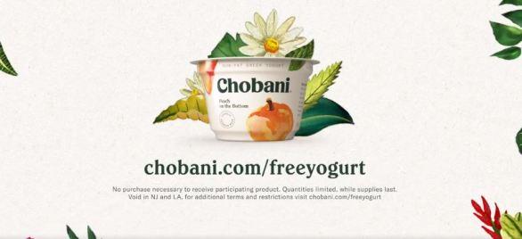 Chobani Giveaway