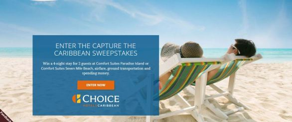 Choice Hotels Capture the Caribbean Sweepstakes