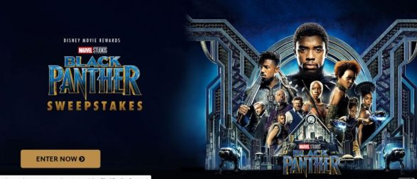 Disney Movie Rewards Black Panther Sweepstakes - Win Screening