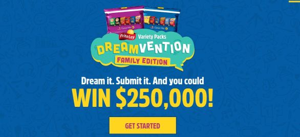 Dreamvention Family Edition Sweepstakes
