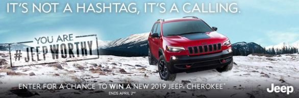 FCA Canada Jeep Worthy Contest