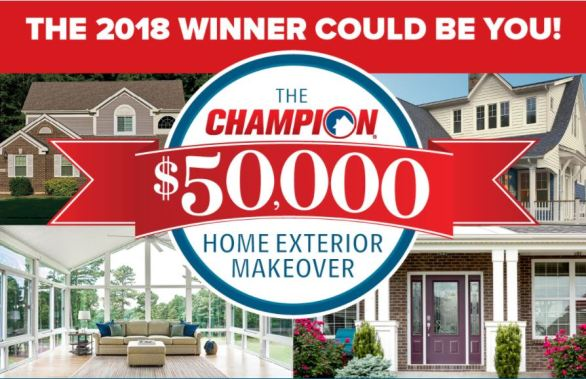 Home Exterior Makeover Giveaway Sweepstakes