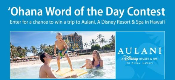 Ohana Word of The Day Contest