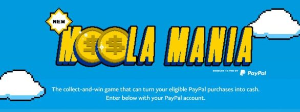 PayPal Moola Mania Instant Win Game