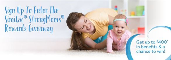 Similac StrongMoms Baby's First Milestones Giveaway