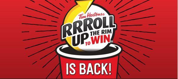 Tim Hortons Roll Up The Rim