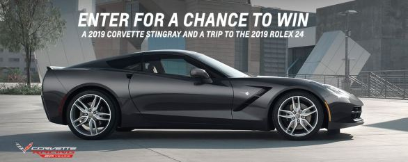 20th Anniversary of Corvette Racing Sweepstakes