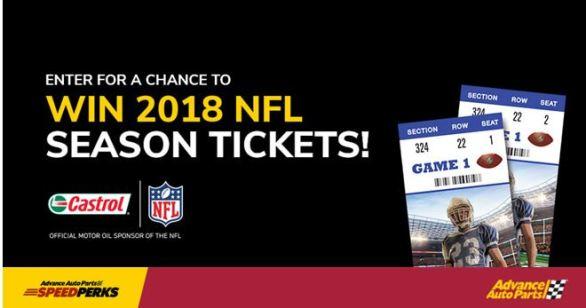 Castrol NFL Season Ticket Sweepstakes