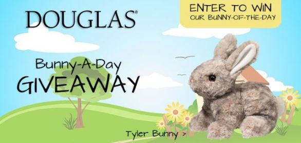 Douglas Cuddle Toys Bunny-A-Day Giveaway