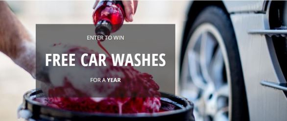 Free Car Washes For A Year Giveaway