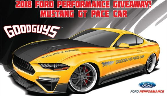 Goodguys Ford Performance Mustang GT Giveaway