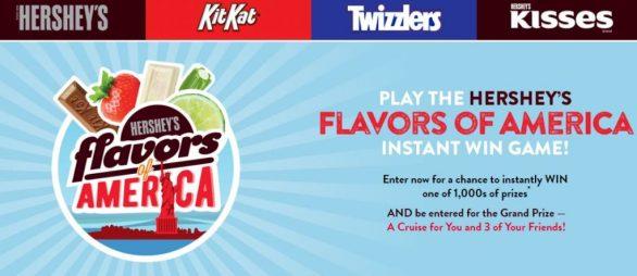 Hershey Flavors of America Instant Win