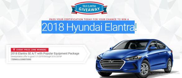 Hyundai Elantra Car Giveaway