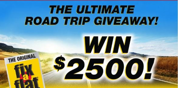 ITW Global Brands Ultimate Road Trip Giveaway