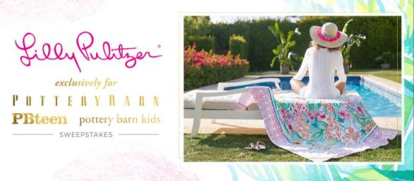 Lilly Pulitzer For Pottery Barn Brands Sweepstakes