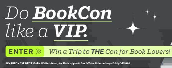 PRH BookCon VIP Sweepstakes