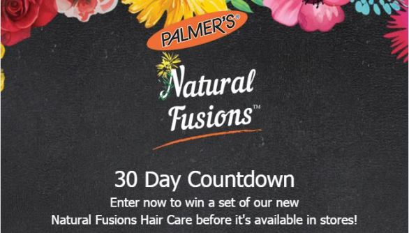 Palmer's Natural Fusions Countdown Sweepstakes