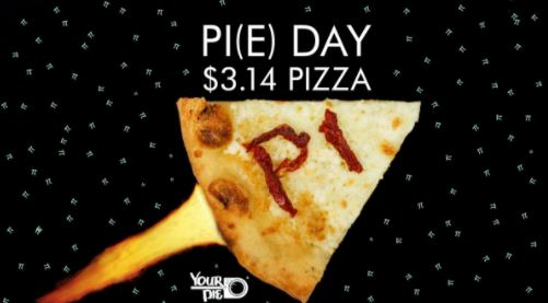Pi(e) Day Pizza & GoPro Giveaway