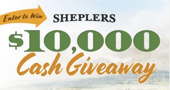 Sheplers $10,000 Cash Giveaway Sweepstakes