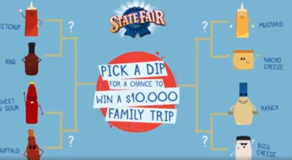 State Fair Corn Dogs Dip-Off Sweepstakes