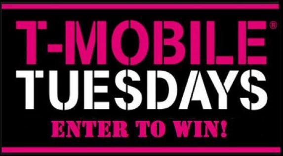 T-Mobile Tuesdays Game Weekly Sweepstakes