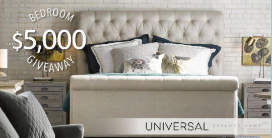 Universal Furniture $5000 Bedroom Giveaway